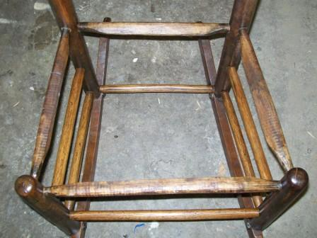 Chair with Dowels
