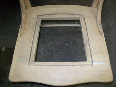 Chair with Groove
